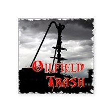 "Wellhead Frac  Square Sticker 3"" x 3"""