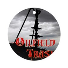 Wellhead Frac  Round Ornament