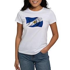 Wavy Madison Flag Women's T-Shirt