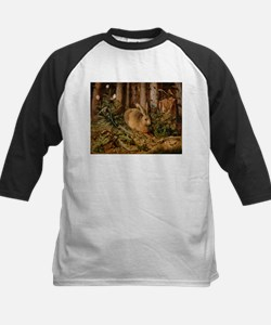 Hare In The Forest Baseball Jersey