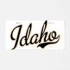Idaho Aluminum License Plate