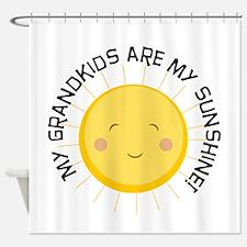 Grandkids Are Sunshine Shower Curtain