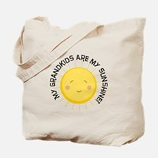 Grandkids Are Sunshine Tote Bag