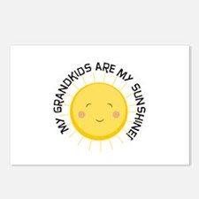 Grandkids Are Sunshine Postcards (Package of 8)