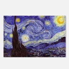 Van Gogh Starry Night Postcards (Package of 8)