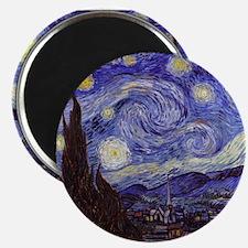 Van Gogh Starry Night Magnets