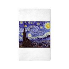 Van Gogh Starry Night 3'x5' Area Rug