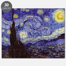 Van Gogh Starry Night Puzzle