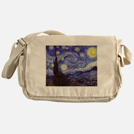 Van Gogh Starry Night Messenger Bag