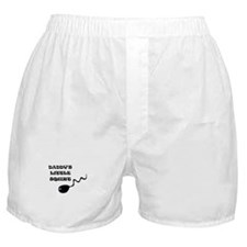 DADDY'S LITTLE SQUIRT (SPERM HUMOR) Boxer Shorts
