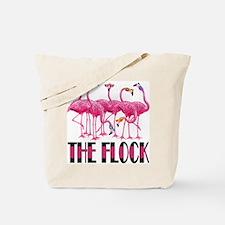 D2K Flamingos Tote Bag