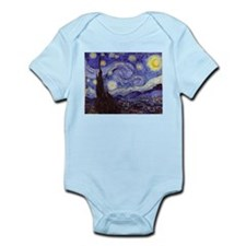 Van Gogh Starry Night Body Suit