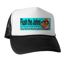 Flush the Johns Kerry & Edwards Trucker Hat