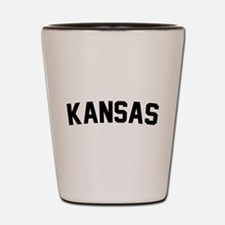 Kansas Shot Glass