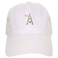 Paris Eiffel Tower of Cats Baseball Baseball Cap