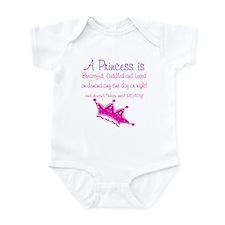 A Princess is Infant Bodysuit