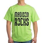 Madison Rocks Green T-Shirt