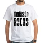 Madison Rocks White T-Shirt
