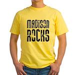 Madison Rocks Yellow T-Shirt