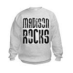 Madison Rocks Kids Sweatshirt