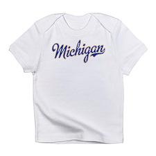 Michigan Script Font Infant T-Shirt