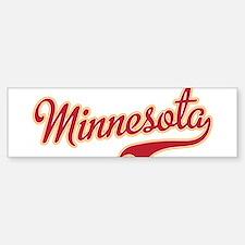 Minnesota Bumper Bumper Bumper Sticker