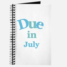 Blue Due in July Journal