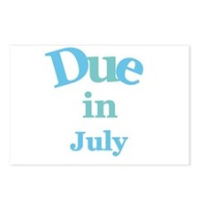 Blue Due in July Postcards (Package of 8)