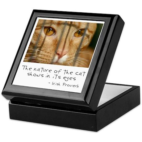 Nature of the Cat Keepsake Box