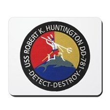 USS ROBERT K. HUNTINGTON Mousepad