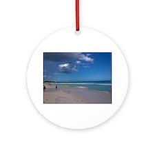 Playa Del Carmen Round Ornament