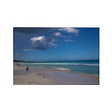 Playa Del Carmen Rectangle Magnet