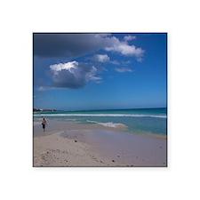 "Playa Del Carmen Square Sticker 3"" x 3"""