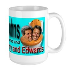 Flush the Johns Kerry & Edwards Mug