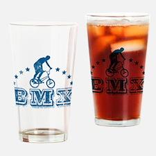BMX Bicycle Drinking Glass