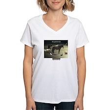 Pbmagic_women's V-Neck T-Shirt