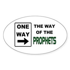 Way of the Prophets Oval Decal