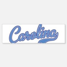 Carolina Blue Bumper Bumper Bumper Sticker