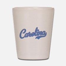 Carolina Blue Shot Glass