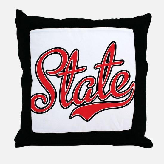 State Throw Pillow