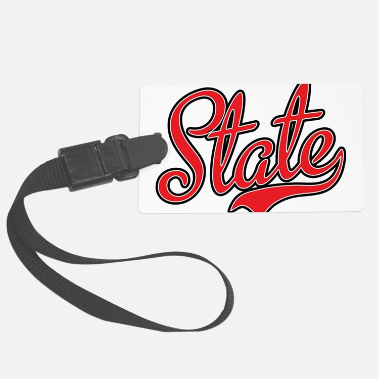 State Luggage Tag