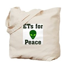 ETs for Peace Tote Bag