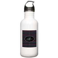 Trendy Nautical Anchor Water Bottle