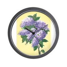 LILAC SPRIG 4 7 14 Wall Clock