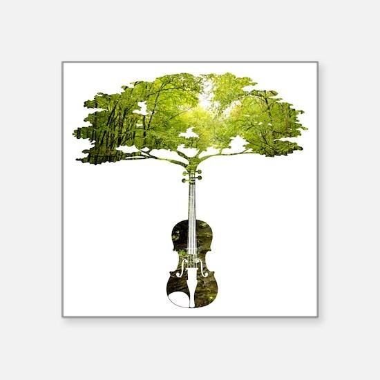 Violin tree Sticker