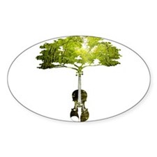 Violin tree Decal