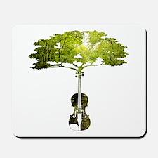 Violin tree Mousepad