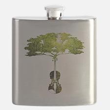 Violin tree Flask