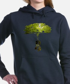 Violin tree Women's Hooded Sweatshirt