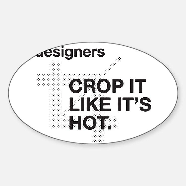 Designers Crop It Decal